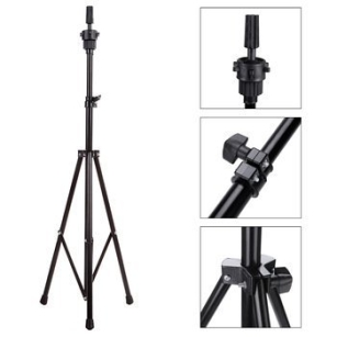 Great Tripod Manikin Wig Mannequin Head Holder Hairdressing Stand Adjustable 85-135cm