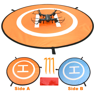 New Landing Pad Helipad Foldable Fixed Nail For DJI Mavic Phantom 4 3 2