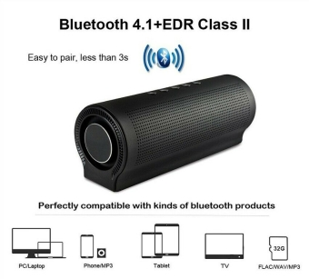 Great HiFi Bluetooth 4.1 Speaker Portable Extra Bass Compitable  with Android and iPhone