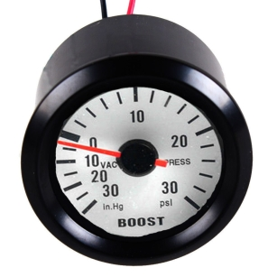 "Brand New 2"" LED Display Car Turbo Boost Gauge Meter Dials PSI Motor Pointer w/Hose"