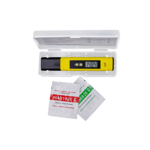 Water Meter PH Tester for Aquarium Pool Spa Wine Hydroponics Testing Monitor