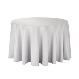 High Quality Round Top Table Skirt Pleated Covers Tablecloths for Wedding Party Hotel Bar Restaurant