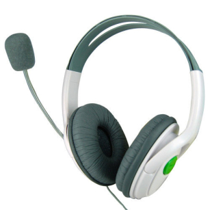 Quality Headphones Earphones with Microphone Live Gaming Online Headset for Xbox 360