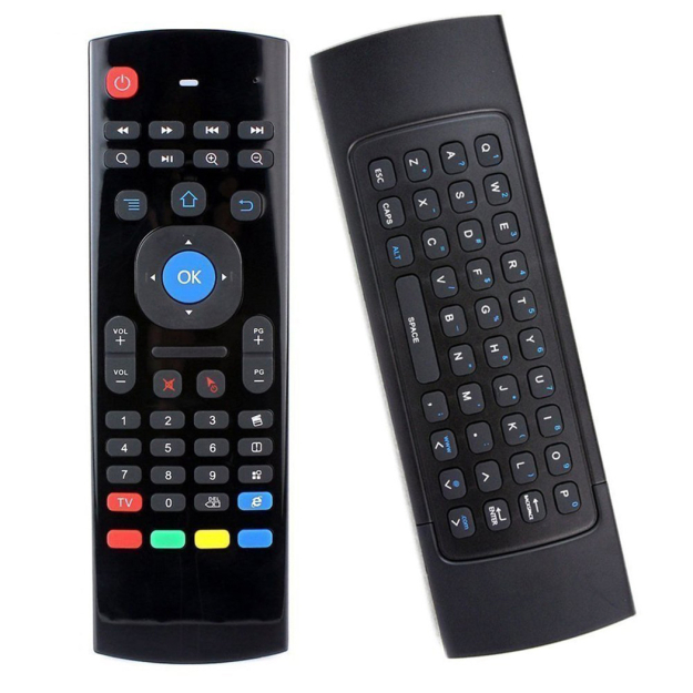 Wireless Air Fly Mouse Keyboard Remote Control for Smart TV / Android Box /  Computer