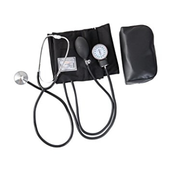 Aneroid Blood Pressure Monitor & Stethoscope Set