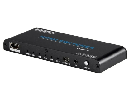 Useful Monoprice Blackbird 5x1 HDMI 2.0 Switch, HDR, HDCP 2.2