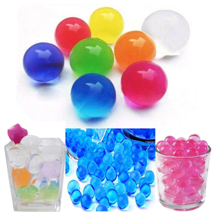 Large Aqua Water Crystal Beads Vase Filler Centerpieces Party Event Decoration