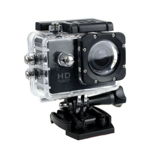 Full HD 1080P 32GB Waterproof Sports Action Camera / Car Dash Cam with Accessories