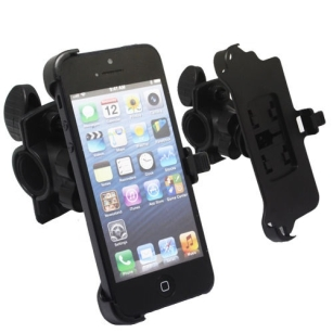 Bicycle Bike Cycle Sports Handlebar Mount Holder Clamp for iPhone 5