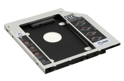 Brand New SATA 2nd HDD SSD Hard Drive Caddy for Laptops 9.5mm Optical Hard Drive HD