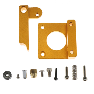 Great MK8 Extruder Aluminum Frame Block DIY Kit 3D Printer For Single Nozzle Extrusion