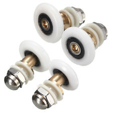 Brand New Partiality Bottom Shower Door Single Wheels Rollers Runners Pulleys 27MM X 4
