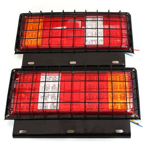 2pcs 32 LED 12V Stop Rear Tail Indicator Lamp Lights for Truck Trailler Van
