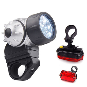 High Quality Bright LED Bike Bicycle Front and Rear Mountain Wide Beam Lights
