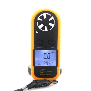 Pocket LCD Digital Wind Speed Meter Anemometer