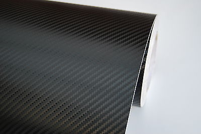 "78.7"" x 23.6"" Car 3D Carbon Fiber High Quality Vinyl Wrap Roll Film"