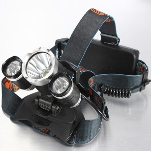New CREE XM-L T6 LED Headlamp Outdoor Lights Torch