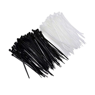 2.5 / 4.8mm 100 x Cable Ties Set Strong Zip Wraps Wire Loop