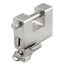 Super 90mm Warehouse Container Garage Shutter Solid Padlock Chain Lock Heavy Duty